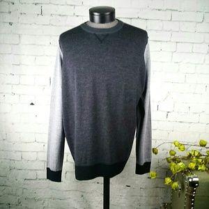 NWT Thomas Dean Italian wool lightweight sweater